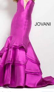 Jovani strapless mermaid